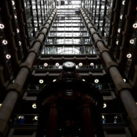 The interior of the Lloyd's of London building in April 2019 | REUTERS
