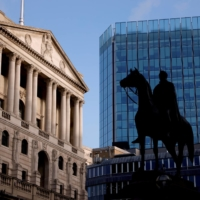 The Bank of England in London's financial district | REUTERS