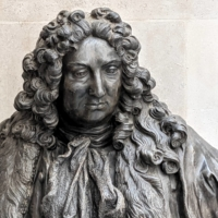 A statue of Sir John Cass in the Guildhall in London | REUTERS