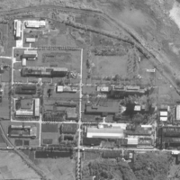 A satellite image shows a processing facility at the Yongbyon nuclear complex in Yongbyon, North Korea, in August. | 2021 MAXAR TECHNOLOGIES / VIA AFP-JIJI