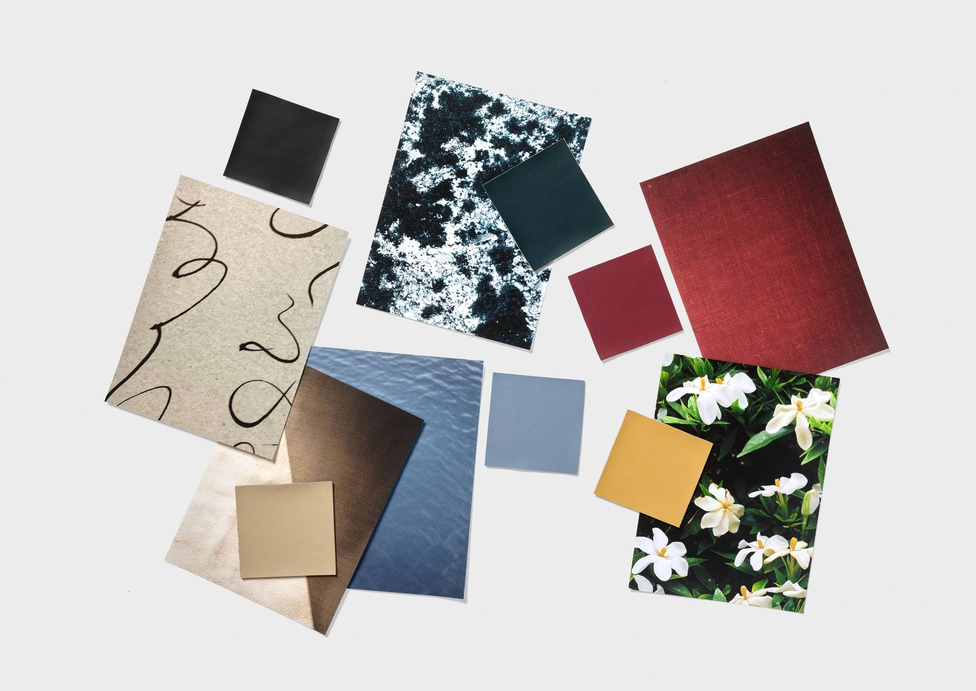 Teruhiro Yanagihara says that 'the Haku collection has a lot of these in-between shades — blues, grays, off-whites.'    COURTESY OF KVADRAT