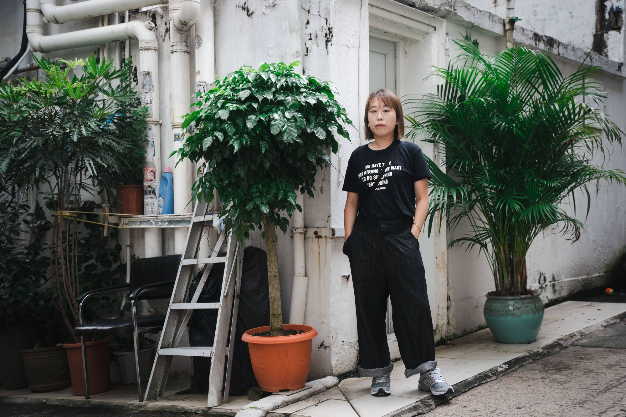 Mok Kwan-ling, an independent film director, was ordered by the censors to make 14 cuts and to change the name of her film, 'Far From Home.' | ANTHONY KWAN / THE NEW YORK TIMES
