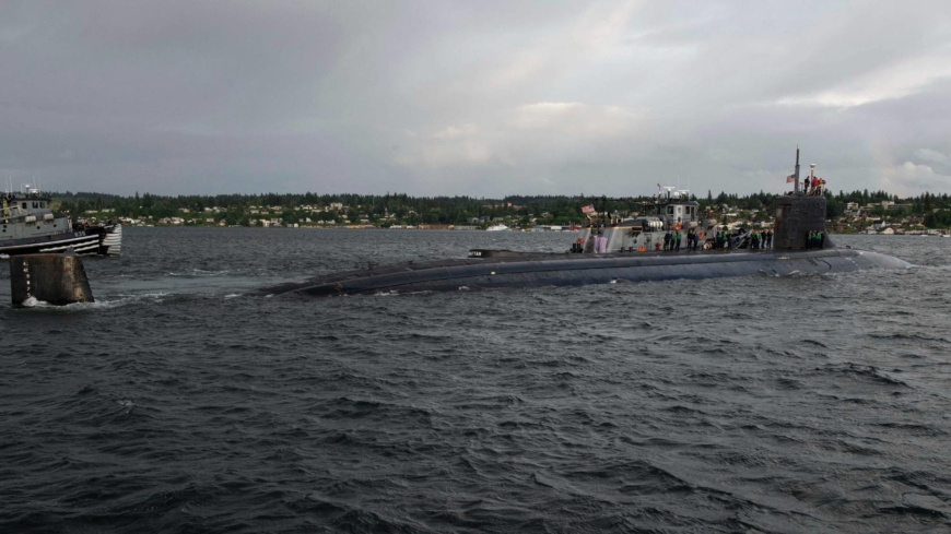 U.S. nuclear submarine hits mystery object in South China Sea