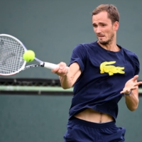 Daniil Medvedev is heading into the BNP Paribas Open with  momentum after winning the U.S. Open last month. | USA TODAY / REUTERS