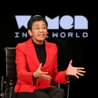Maria Ressa takes part in an event in New York in 2019.  | REUTERS