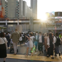 Tokyo reported 49 new cases of COVID-19 on Monday. | BLOOMBERG