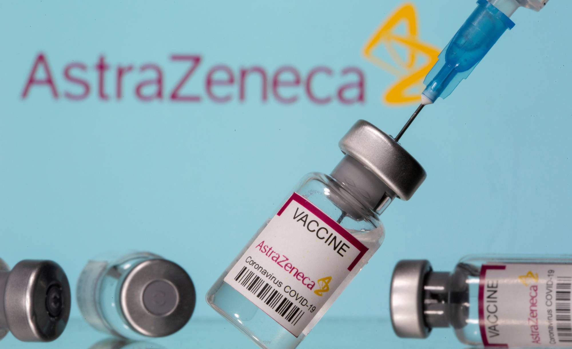 AstraZeneca PLC's antibody drug was found to be effective in treating mild COVID-19 symptoms in a trial, providing another key tool in the fight against COVID-19. | REUTERS