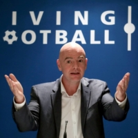 FIFA President Gianni Infantino has backed the idea of holding the World Cup every two years. | REUTERS